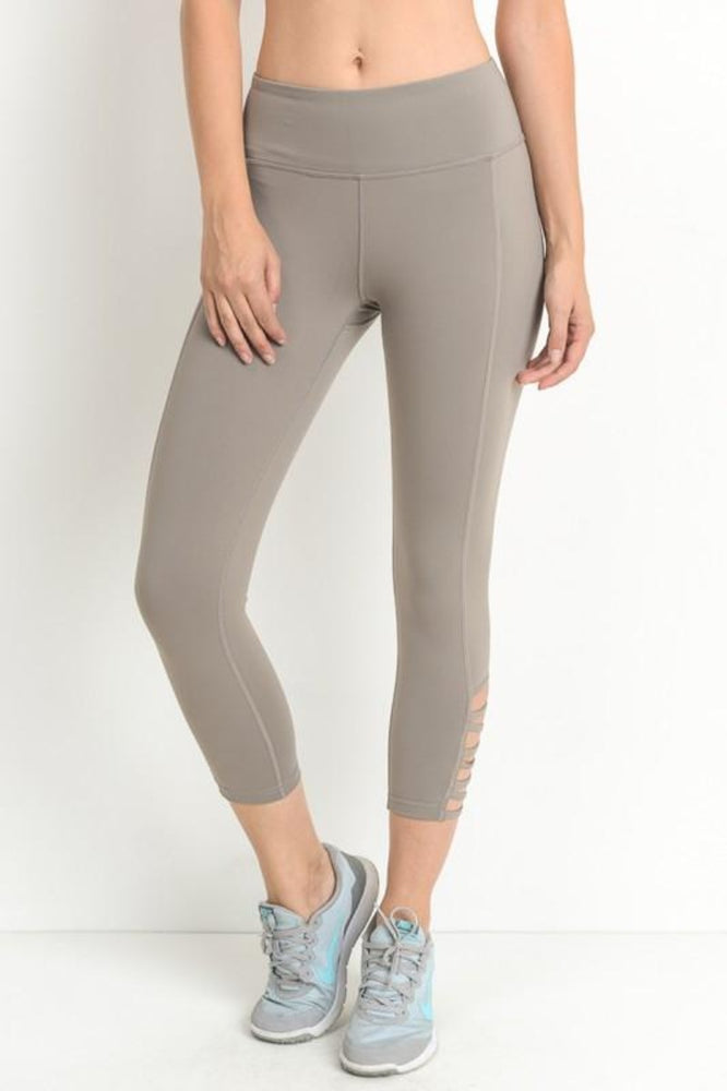 Active Criss Cross Cutout Leggings