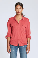 Harleen Button Down Top | Camelia Rose