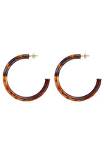 Sheila Fajl Arlene Burnished Hoops