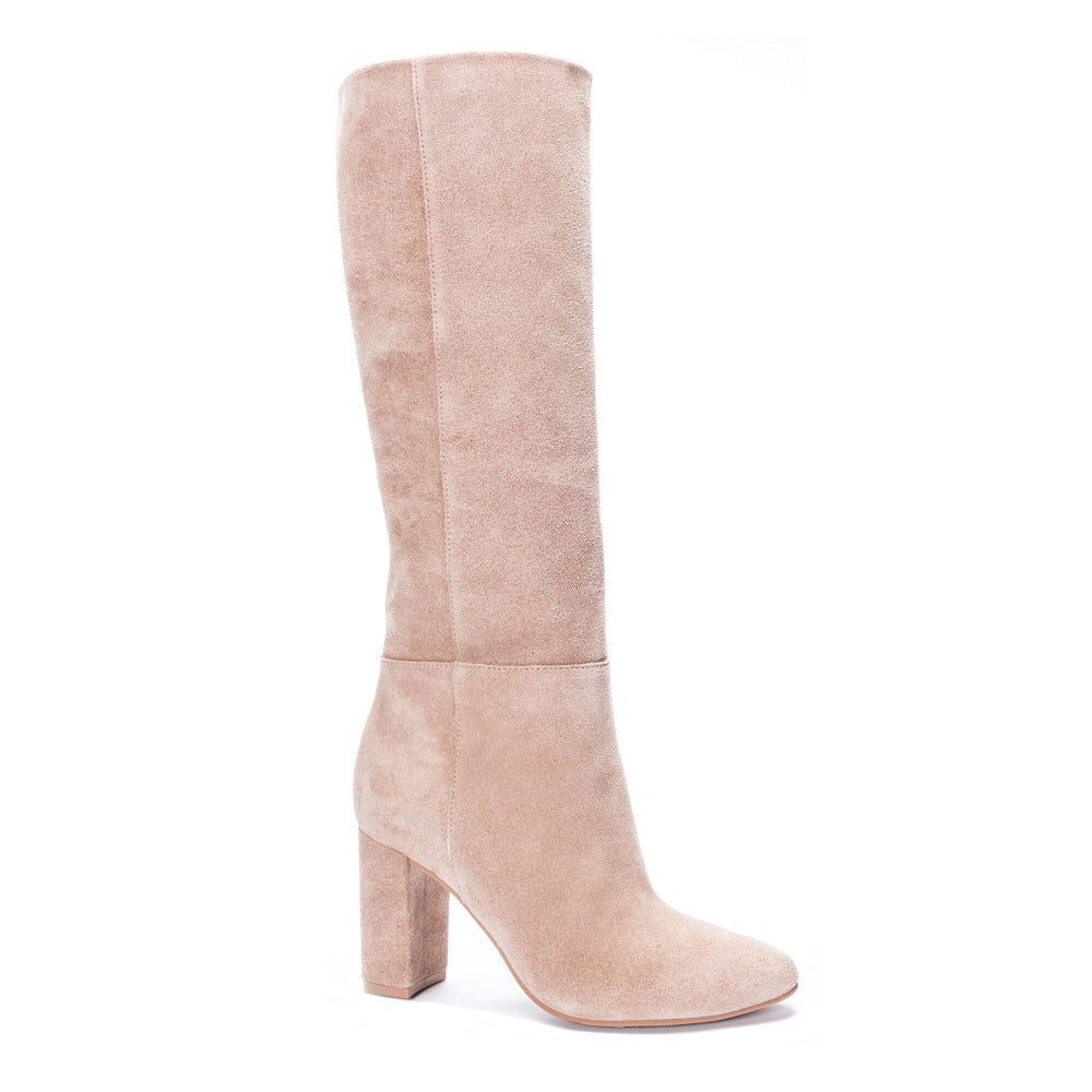 Krafty Suede Boots | Mars Taupe