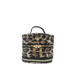 Getaway Weekender Jewelry Case | Bronze Leopard