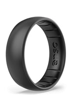 Elements Classic Silicone Ring | Black Pearl