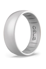 Elements Classic Silicone Ring | Silver