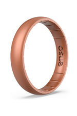 Elements Thin Silicone Ring | Copper