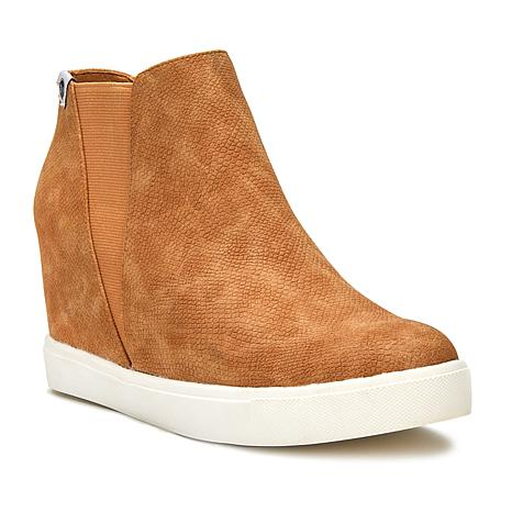Lure Low Wedge Sneaker | Fawn Lizard