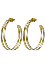 Sheila Fajl Medium Eclipse Hoop Earrings