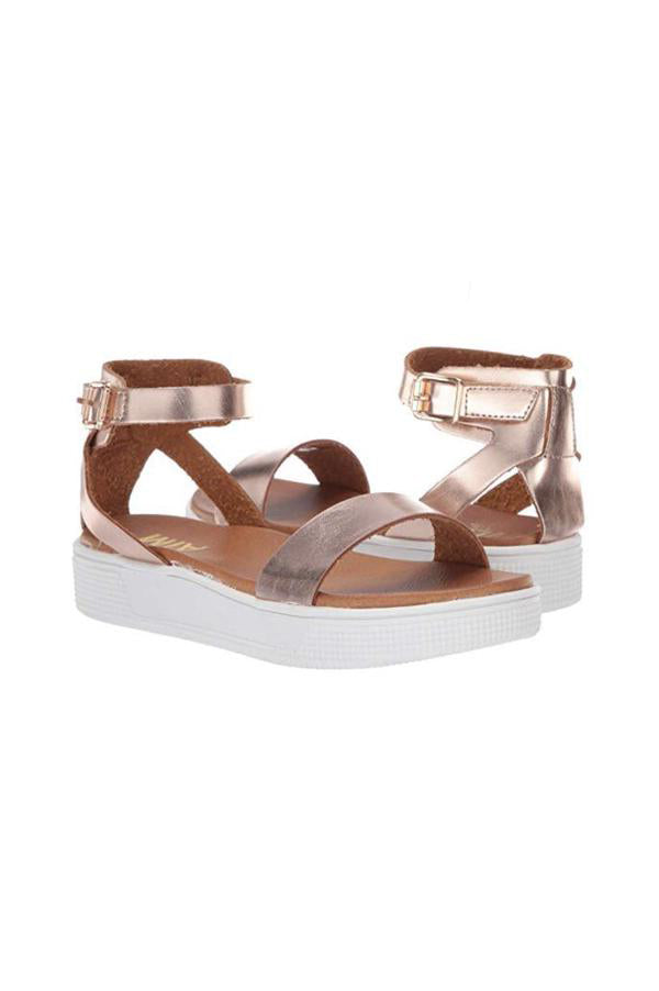 Little Ellen Sandals | Rose Gold