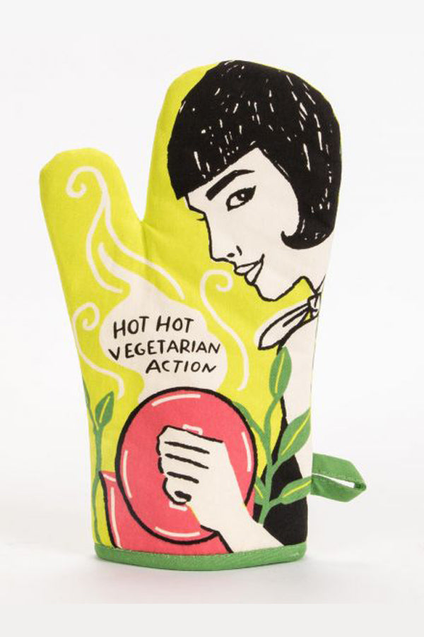 Oven Mitt | Hot Hot Vegetarian