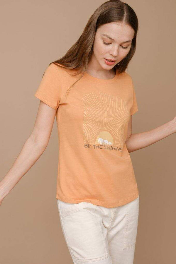 Amie Sunshine Slim Tee
