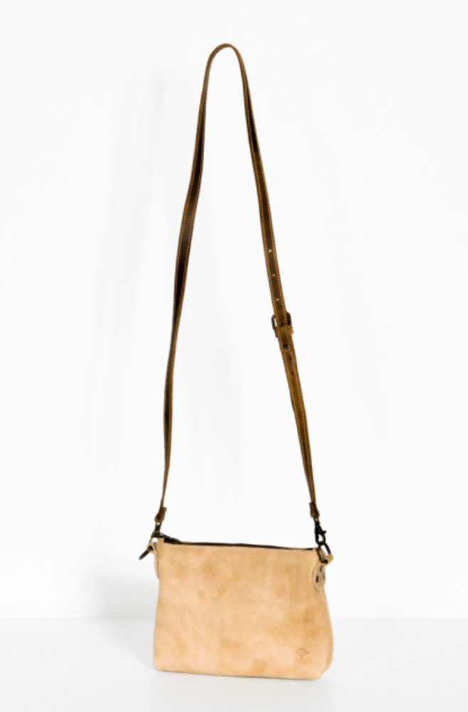 Large Crossbody Handbag | Natural