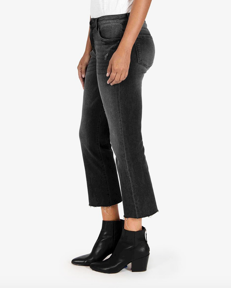 Kelsey High Rise Ankle Flare | Spiritually Wash