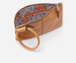 Sable Leather Wristlet | Honey