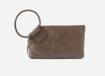 Sable Leather Wristlet | Shadow