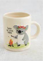 Embossed Mug | Camp Fire Koala
