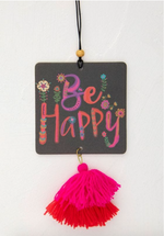 Air Freshener | Be Happy