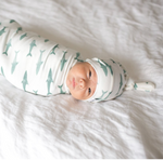 Newborn Top Knot Hat | Pacific