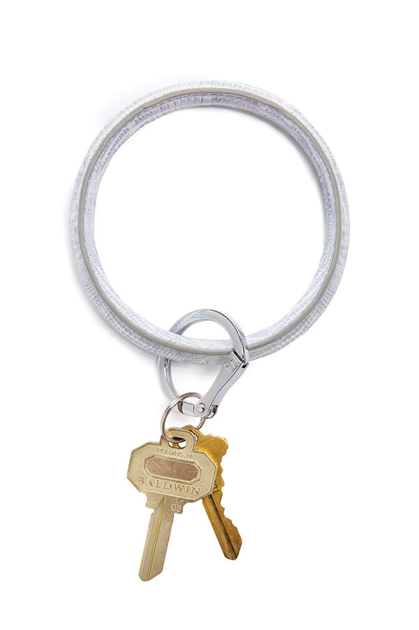 Luxe Key Ring | Fifty Shades Lizard