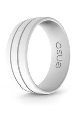 Ultralite Silicone Ring | White