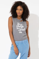 Be The Change Lily Muscle Tee