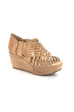 Woody Suede Wedges | Camel