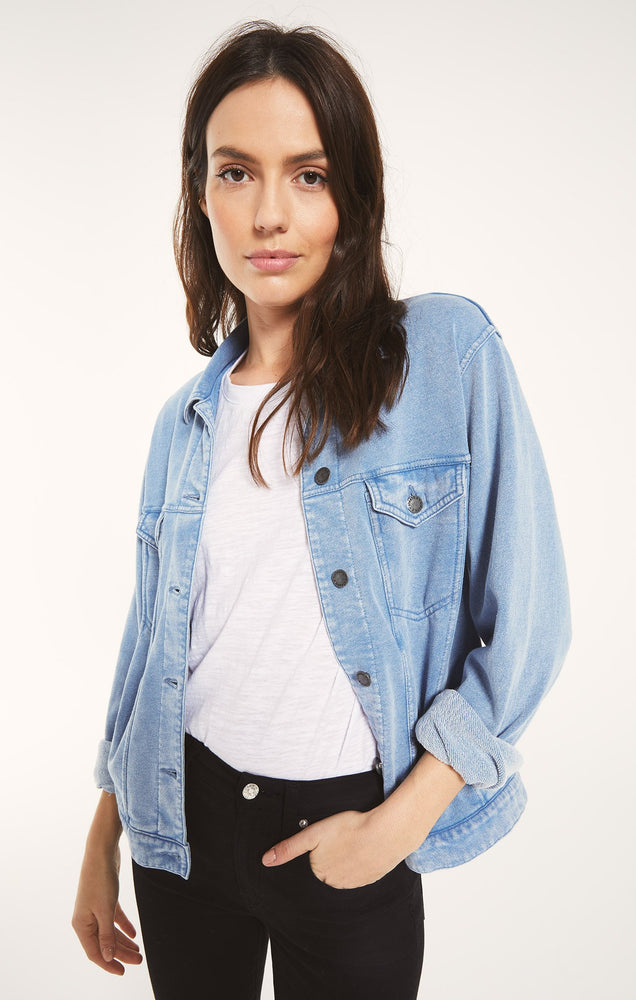 Tina Denim Trucker Jacket