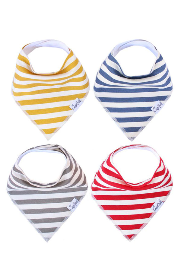 Bandana Bib Set of 4 | Alpine