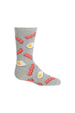 Kids Crew Socks | Eggs & Bacon
