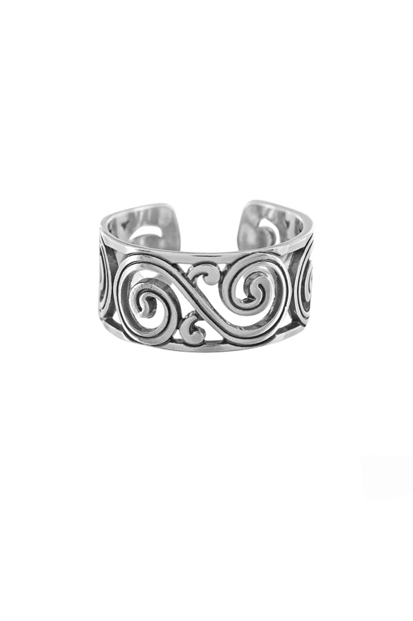 Barcelona Narrow Ring | Silver