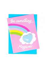 Bath Fizzy Card | Be Something Magical