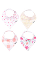 Bandana Bibs Set of 4 | June