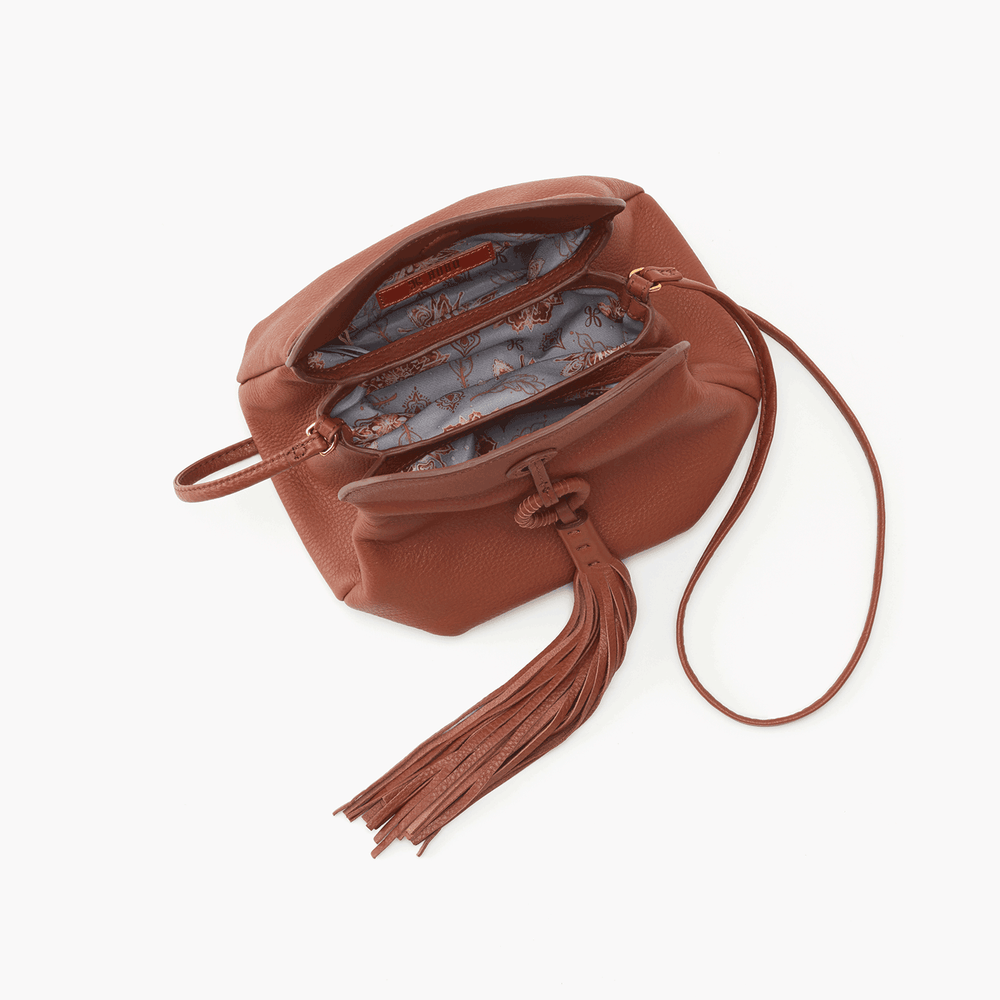 Birdy Leather Crossbody | Toffee