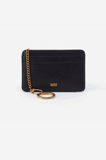 Works Leather Credit Card Wallet | Black