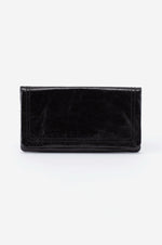 Scroll Leather Wallet | Black
