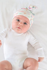 Newborn Top Knot Hat | Bloom