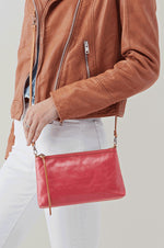 Darcy Leather Crossbody | Blossom