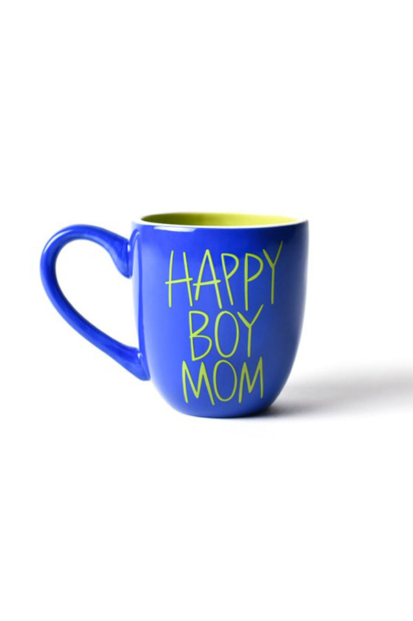 Happy Boy Mom Mug