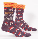 Crew Socks | Butthead of The Household