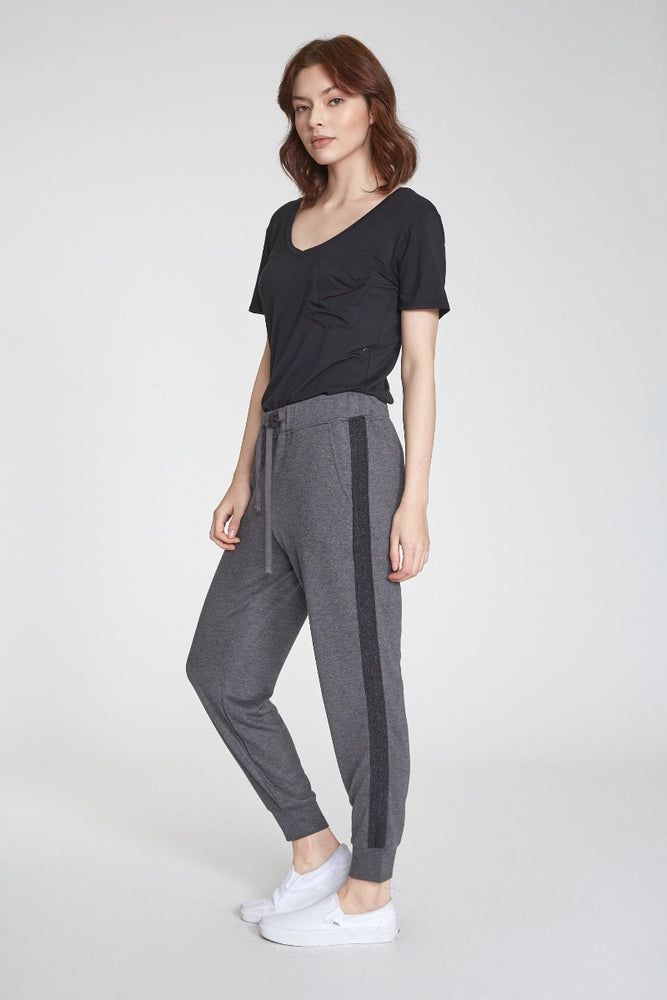 Angela Joggers | Heather Charcoal