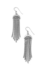 Africa Stories Chain Fringe French Wire Earrings