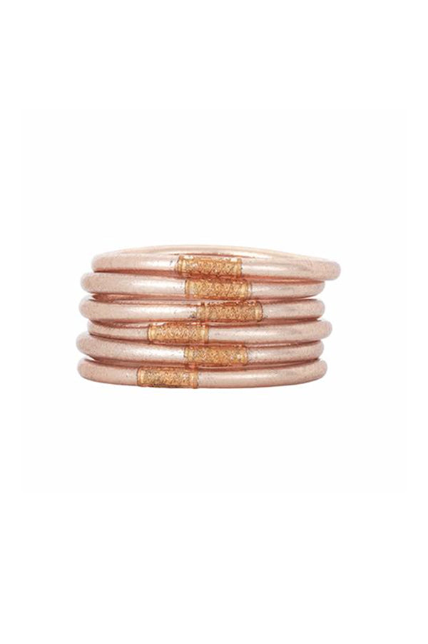 All Weather Bangles Set of 3 | Champagne