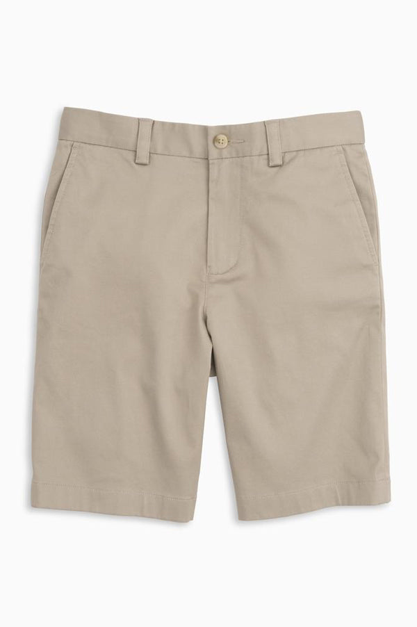 Channel Marker Youth Shorts | Sandstone Khaki