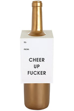 Wine & Spirit Tag | Cheer Up