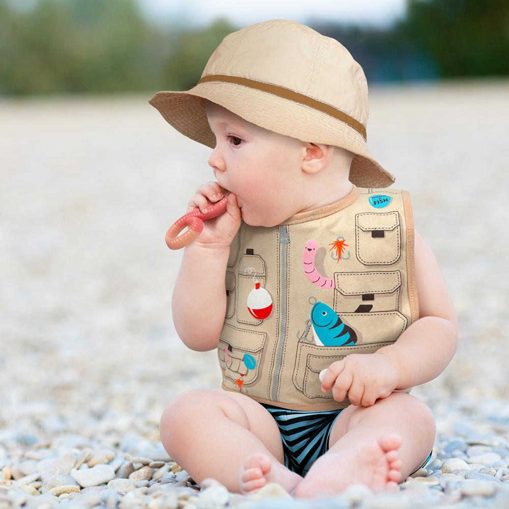Dressed to Spill Bib Set | Fisherman