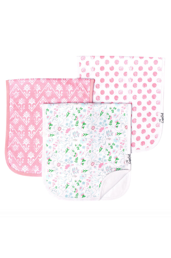 Burp Cloth Set of 3 | Claire