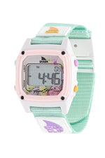 Classic Clip Shark Watch | Mint Blush