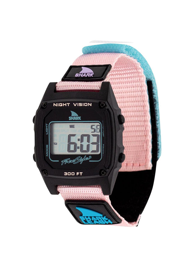 Classic Leash Shark Watch | Cotton Candy
