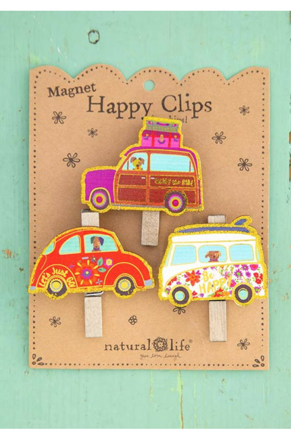 Magnet Happy Clips | Let's Just Go