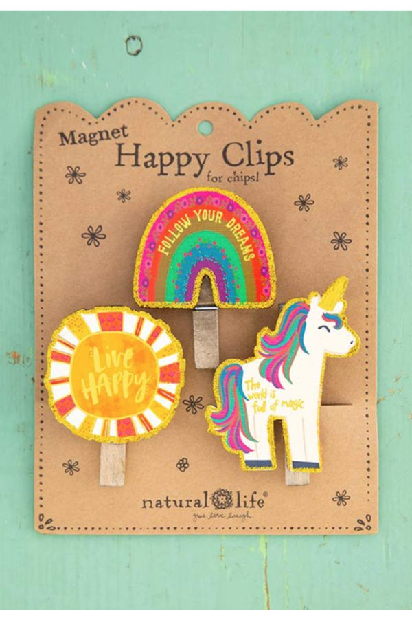 Magnet Happy  Clips | Magic Unicorn