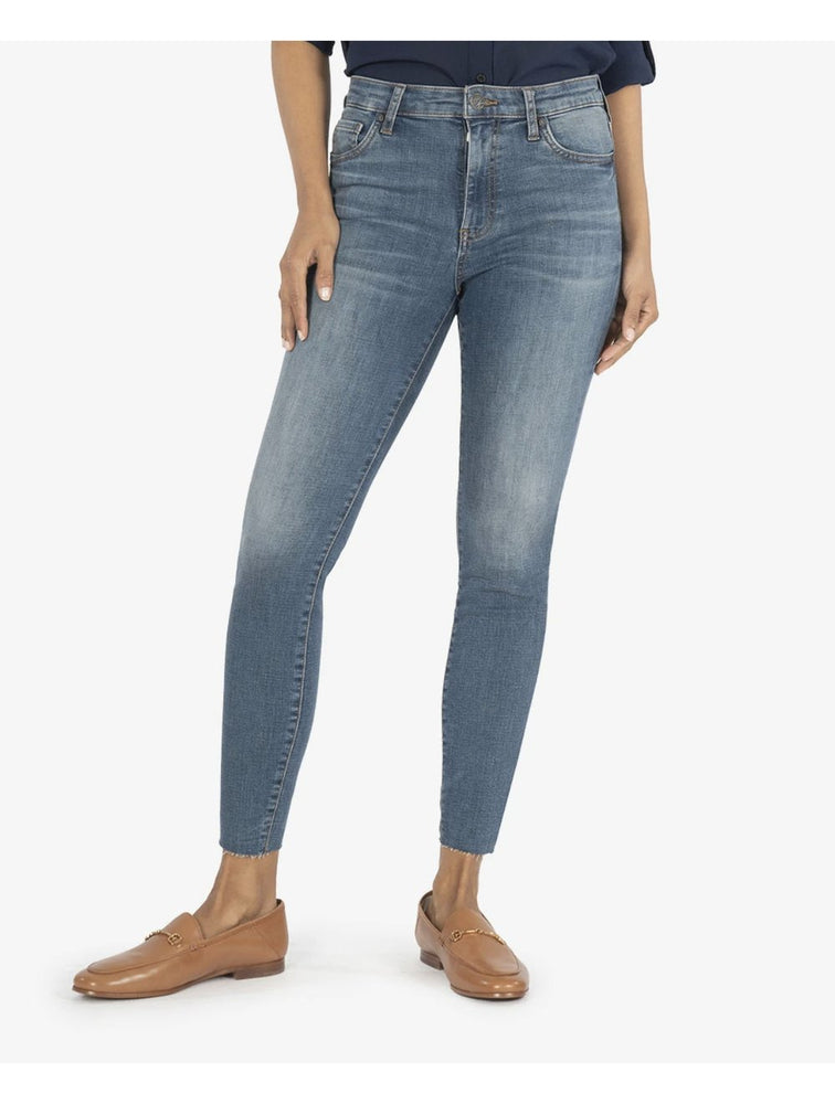 Connie High Rise Ankle Skinny  | Evolution