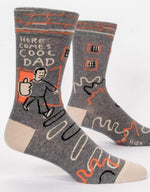 Crew Socks | Here Comes Cool Dad